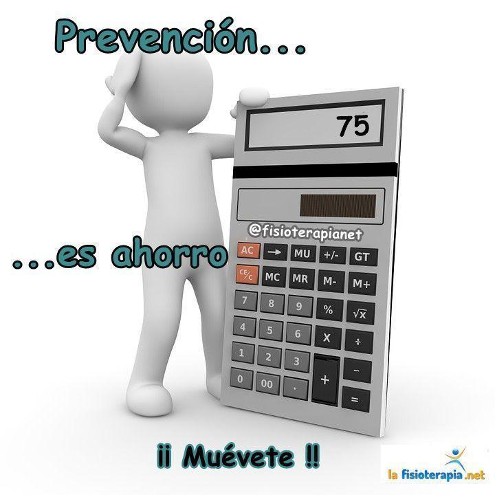 Prevención es ahorro