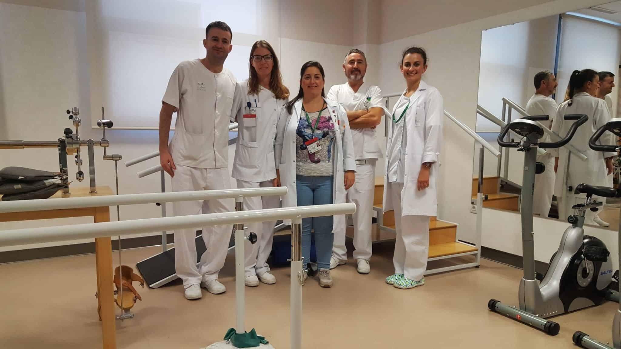 equipo de fisioterapia
