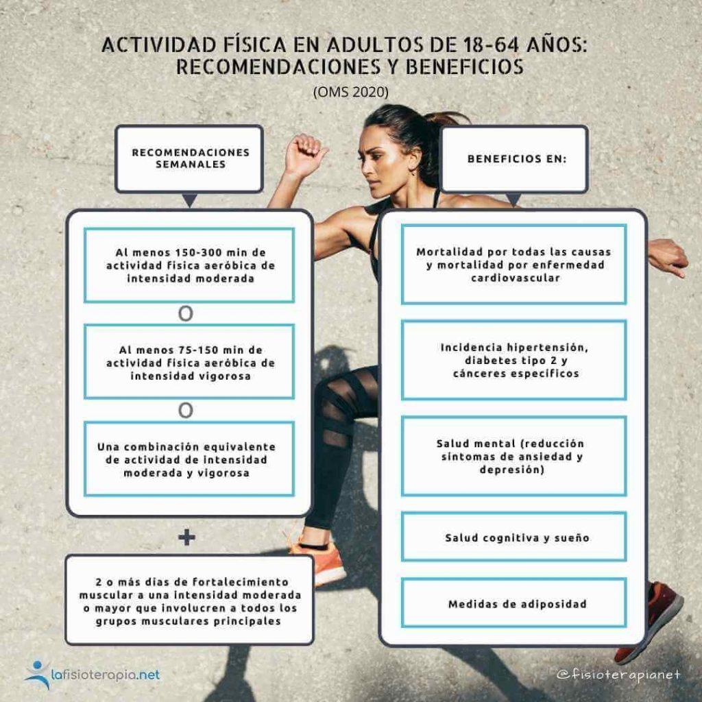 Actividad física que deberían hacer los adultos